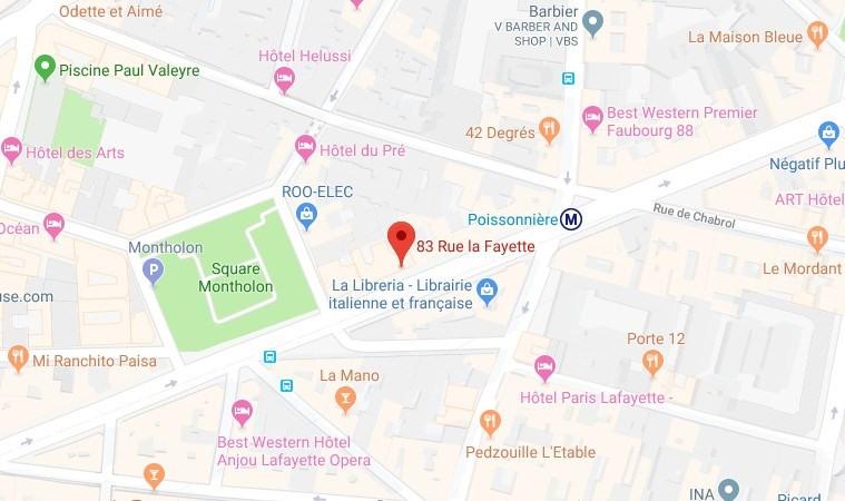 Location bureau Paris 9ème 6486€ HT/HC - Photo 1