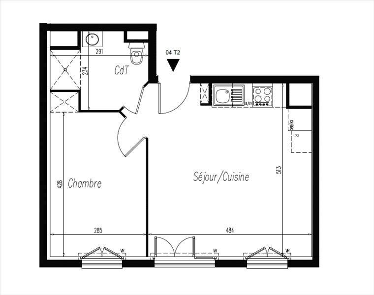Sale apartment L isle adam 179500€ - Picture 2