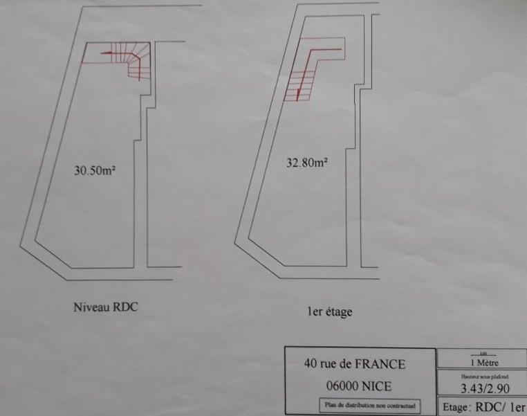 Sale shop Nice 380000€ - Picture 3