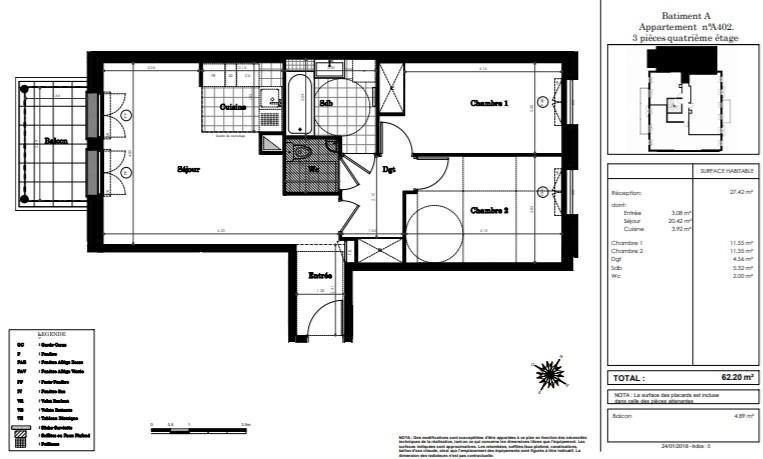 Sale apartment Clamart 430000€ - Picture 2