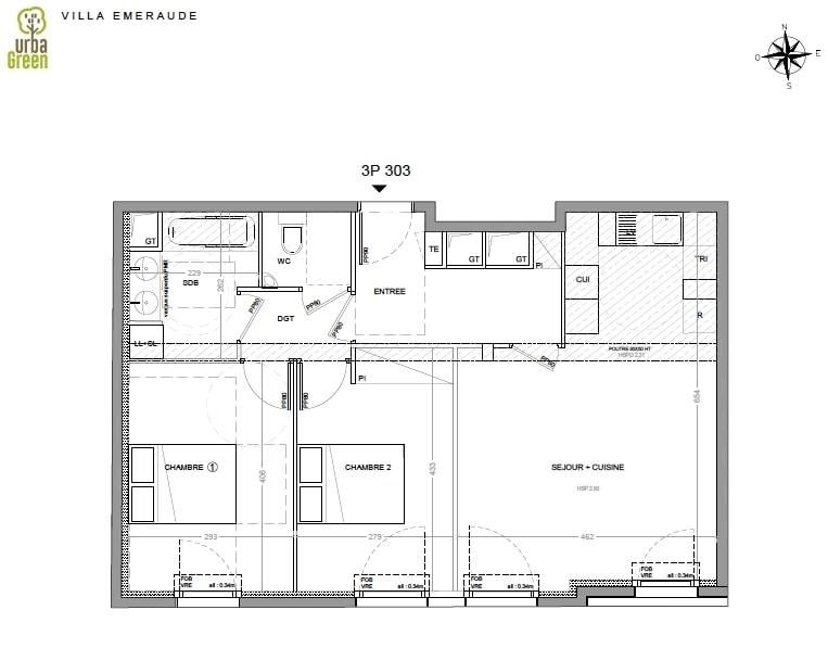 Vente appartement Dinard 370 000€ - Photo 3