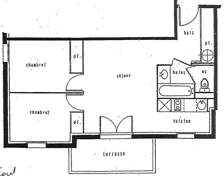 Location appartement Toulouse 667€ CC - Photo 2