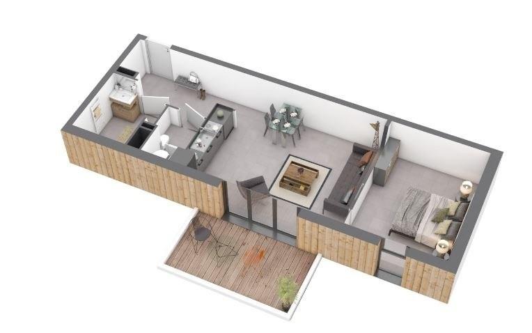 Produit d'investissement appartement Ajaccio 161800€ - Photo 1