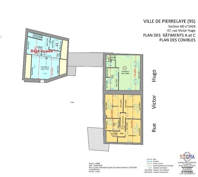 Sale apartment Pierrelaye 246280€ - Picture 4
