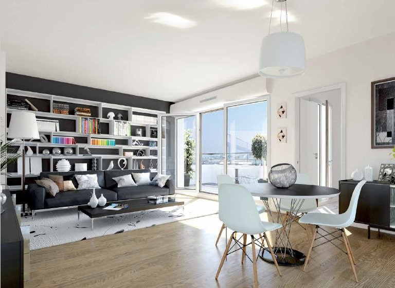 Sale apartment Romainville 197000€ - Picture 1