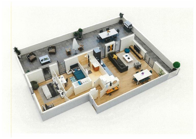 Sale apartment Bordeaux 261000€ - Picture 1
