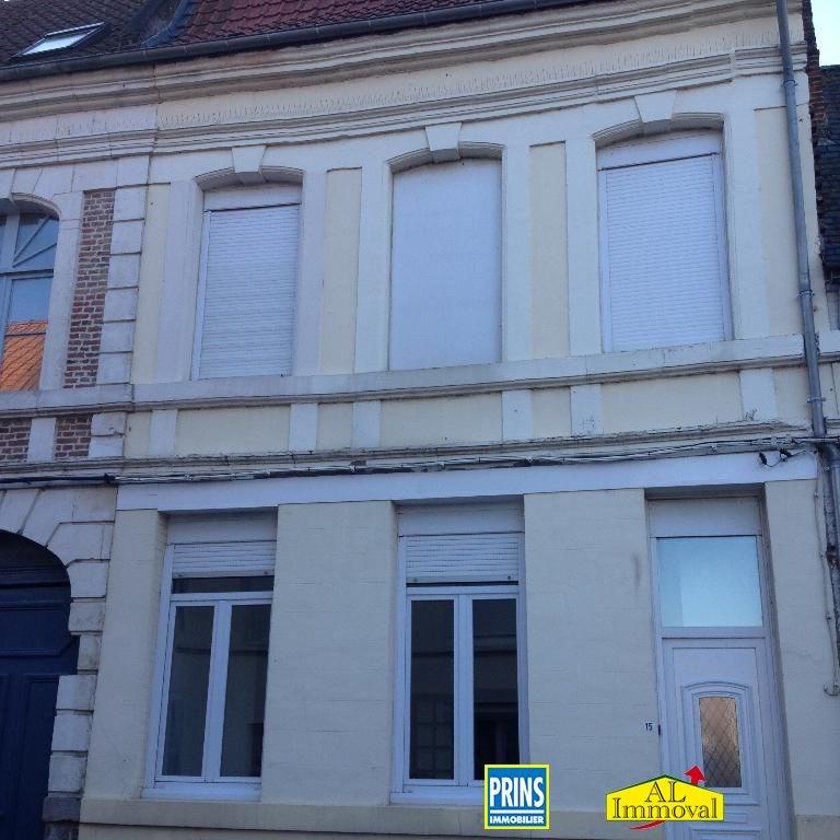 Rental house / villa Aire sur la lys 495€ CC - Picture 1