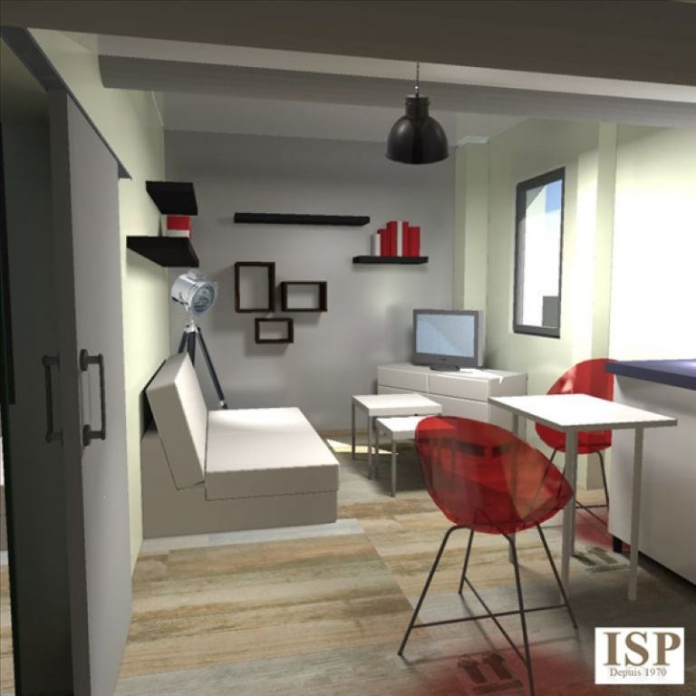 Appartement aix en provence - 1 pièce (s) - 21 m²