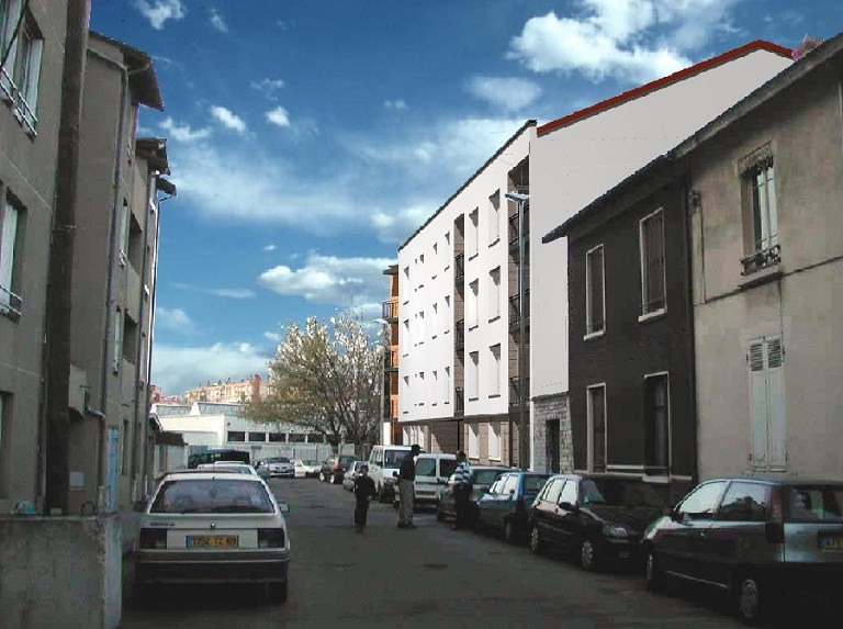 Rental apartment Villeurbanne 431€ CC - Picture 1