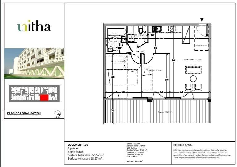 Producto de inversión  apartamento Illkirch graffenstaden 278500€ - Fotografía 3