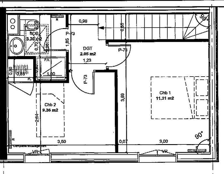 Sale house / villa Lagny sur marne 262000€ - Picture 3