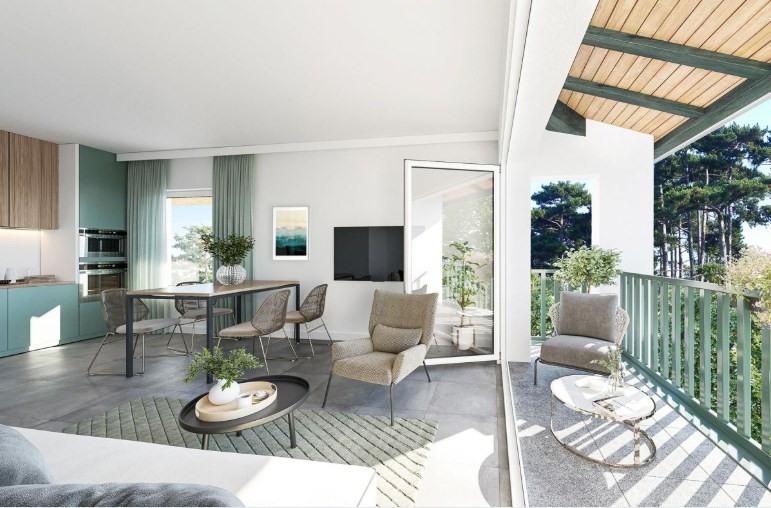 Vente appartement Sanguinet 166500€ - Photo 1
