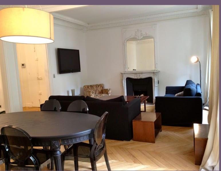 Rental apartment Paris 17ème 4000€ CC - Picture 1