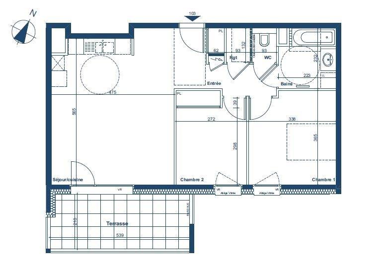Sale apartment Contamine sur arve 239000€ - Picture 1