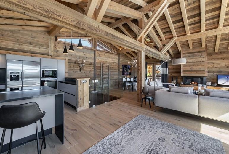 Vente de prestige maison / villa Megeve 2150000€ - Photo 3