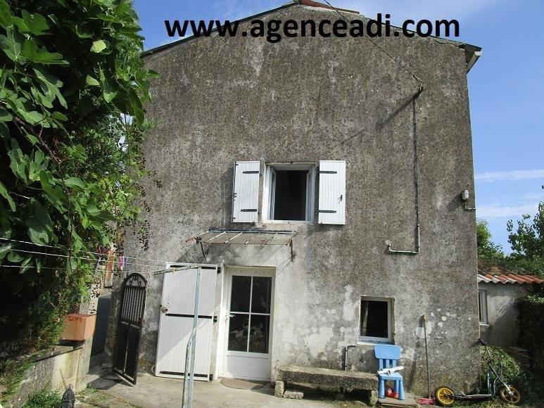 Vente maison / villa Nanteuil 56200€ - Photo 1