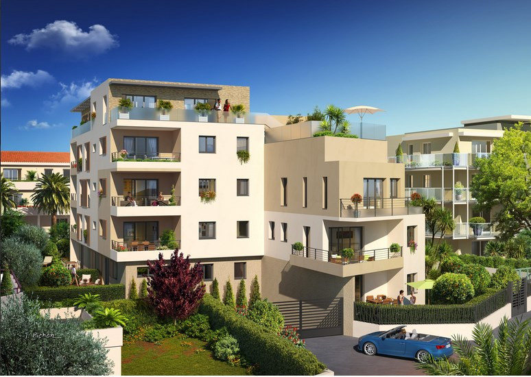 Vente appartement Antibes 464 000€ - Photo 2