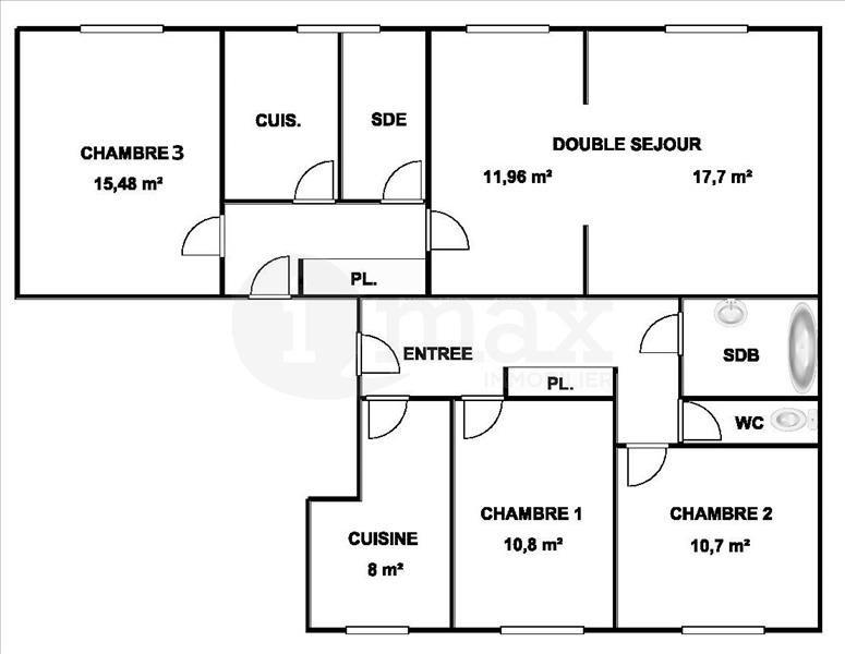 Sale apartment Courbevoie 575000€ - Picture 1
