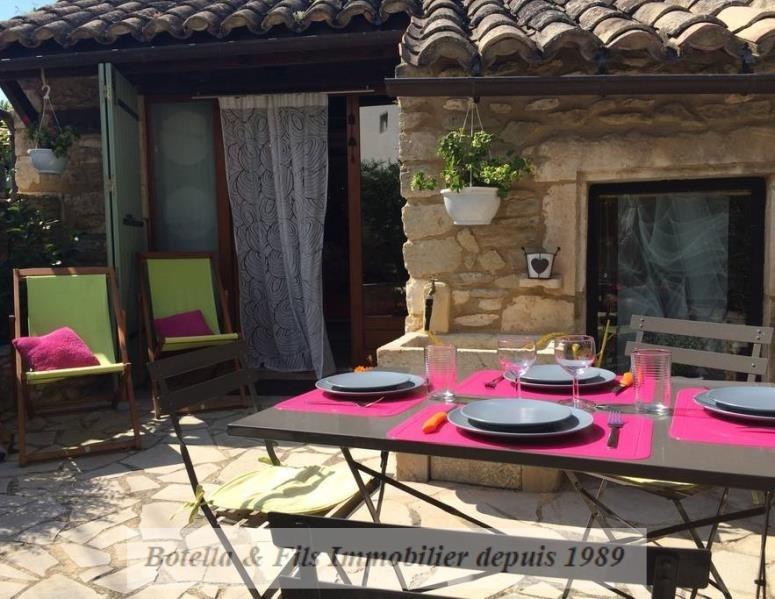 Vente maison / villa Goudargues 138400€ - Photo 1