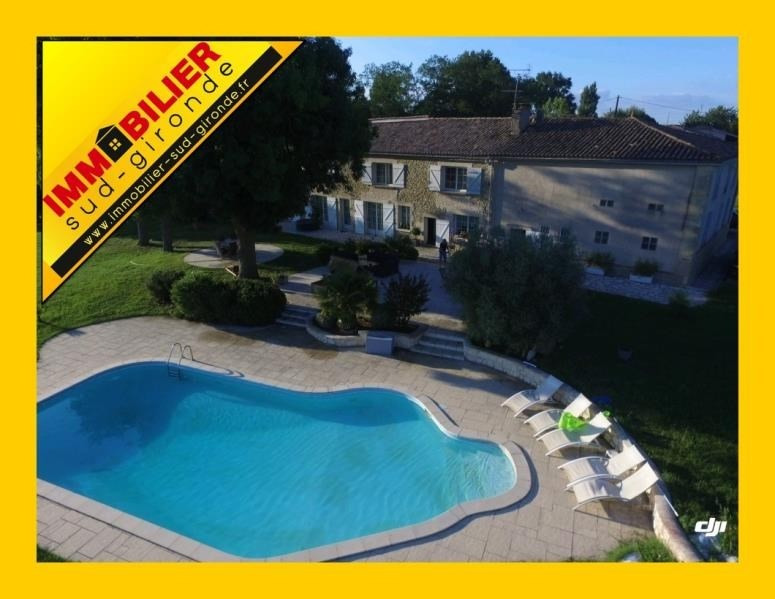 Verkoop  huis La reole 472500€ - Foto 1