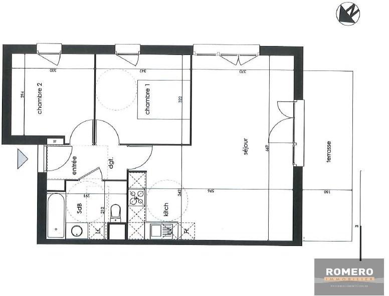 Vente appartement Rouffiac-tolosan 200000€ - Photo 3