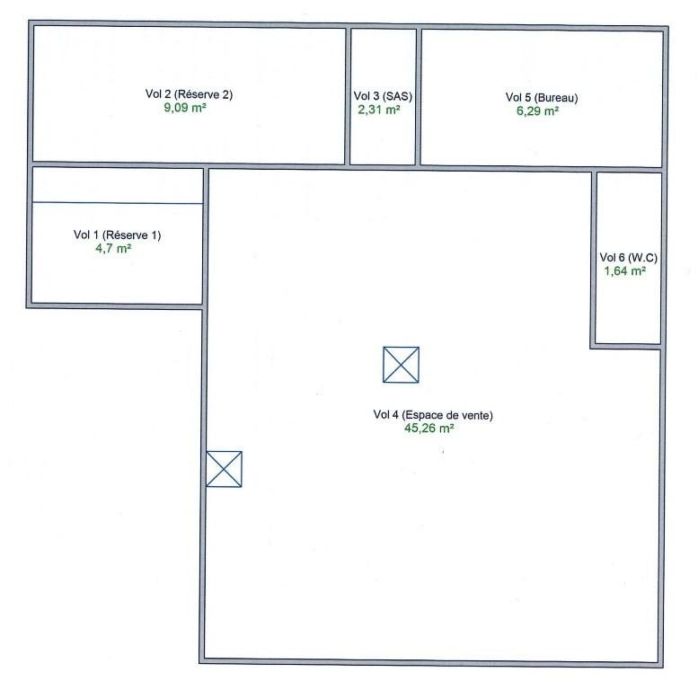 Sale empty room/storage Lyon 8ème 240000€ - Picture 2
