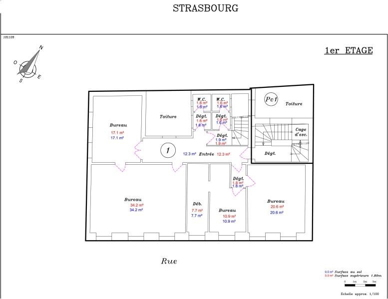 Vente local commercial Strasbourg 788000€ - Photo 5