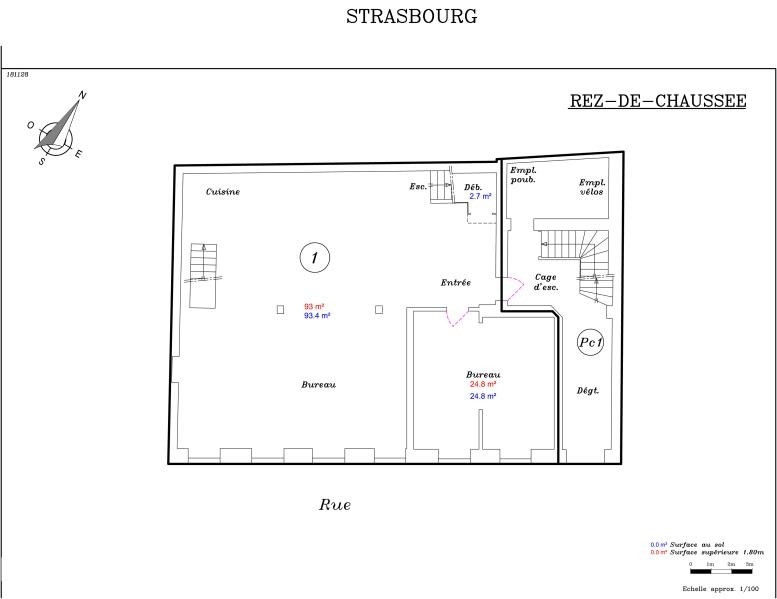 Vente local commercial Strasbourg 371 000€ - Photo 3