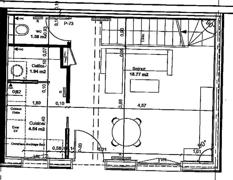 Sale house / villa Lagny sur marne 262000€ - Picture 2