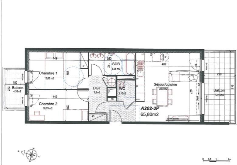 Sale apartment Aix en provence 290000€ - Picture 1