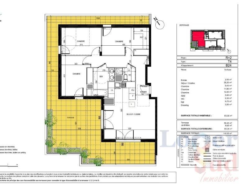 Sale apartment Montpellier 351000€ - Picture 4