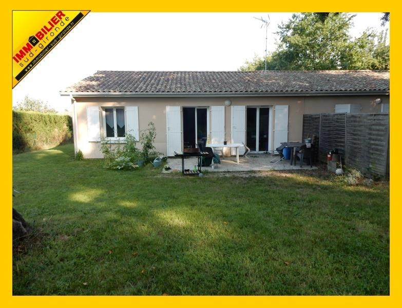 Sale house / villa Langon 134 500€ - Picture 1