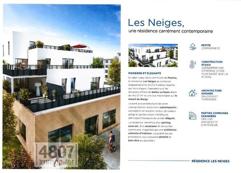 Vente appartement Marnaz 146000€ - Photo 3