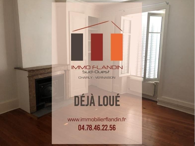 Rental apartment Irigny 690€ CC - Picture 1
