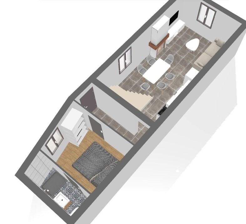 Venta  casa St genis les ollieres 220000€ - Fotografía 5