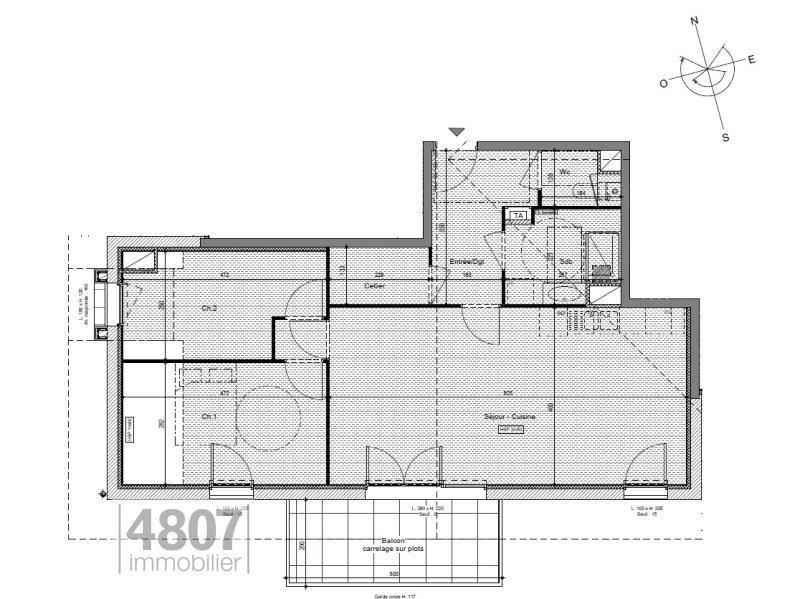Vente appartement Saint pierre en faucigny 327500€ - Photo 3