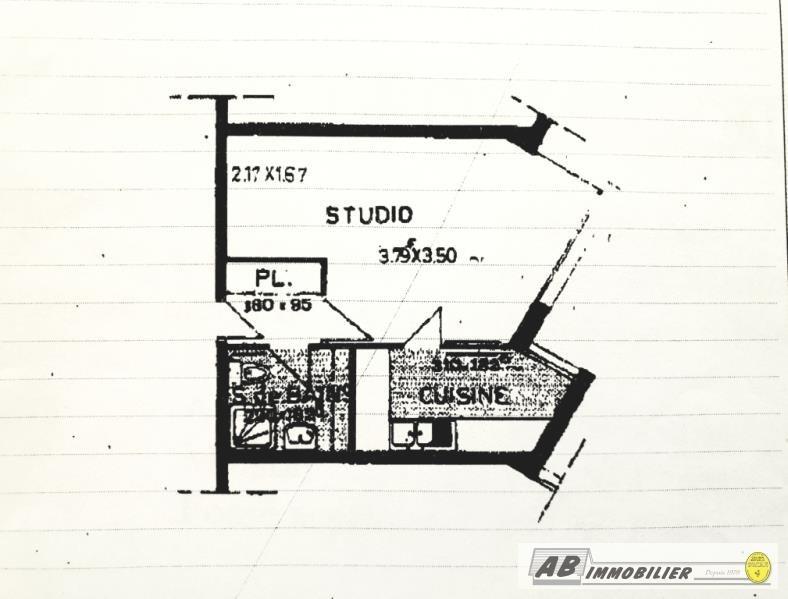 Vente appartement Poissy 104000€ - Photo 1