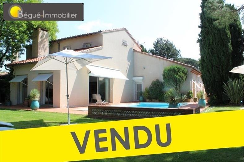 Deluxe sale house / villa 5 mns pibrac 670000€ - Picture 1