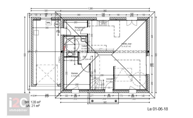 Vente maison / villa Peron 447000€ - Photo 2