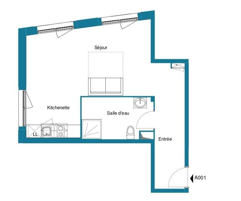 Vente appartement Noisy-le-grand 193500€ - Photo 1