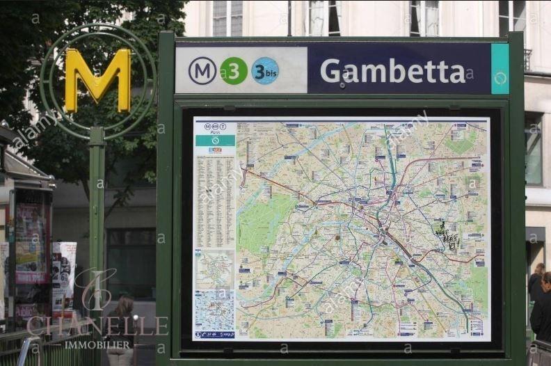 Vente appartement Paris 20ème 355000€ - Photo 1