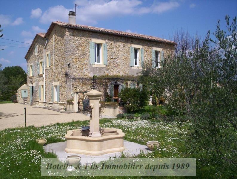 Vente de prestige maison / villa Anduze 695000€ - Photo 1