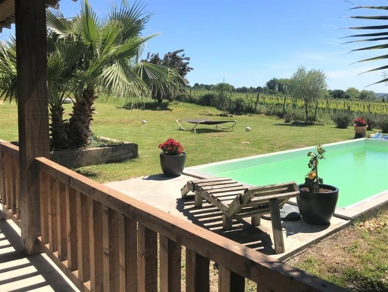 Sale house / villa St medard de guizieres 323000€ - Picture 7