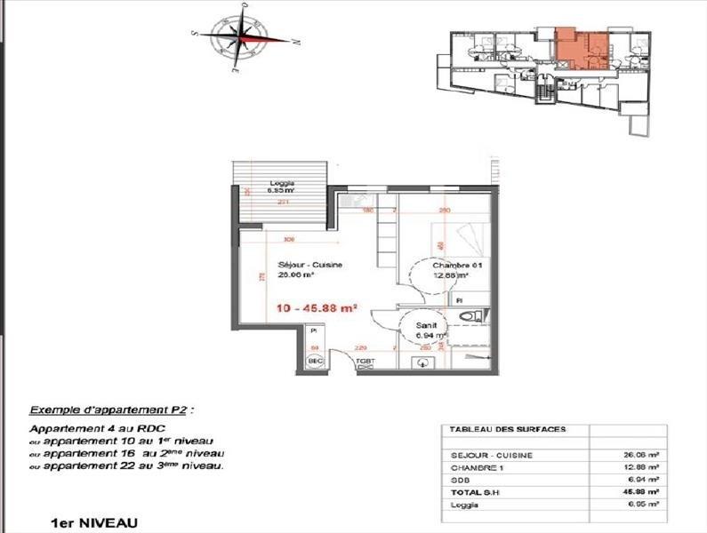 Vente appartement Nimes 150700€ - Photo 3