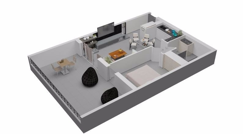 Sale apartment Porticcio (pietrosella) 215000€ - Picture 2