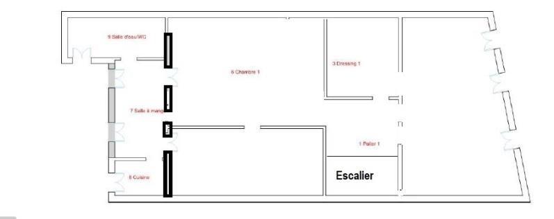 Vente appartement Bordeaux 525000€ - Photo 5