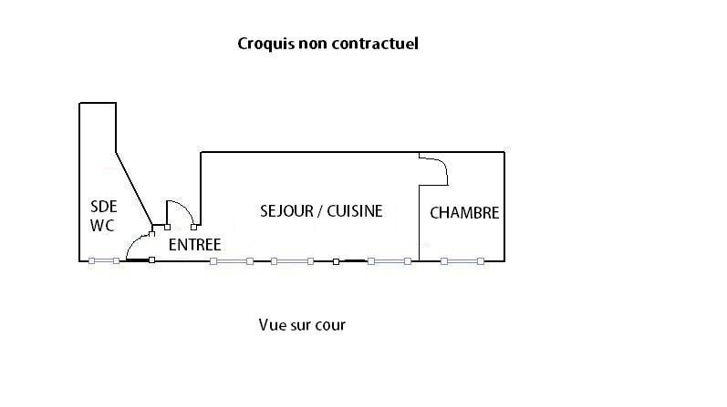 Vente appartement Paris 10ème 249500€ - Photo 6