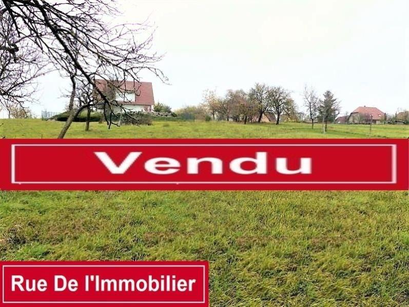 Vente terrain Schwenheim 234000€ - Photo 1