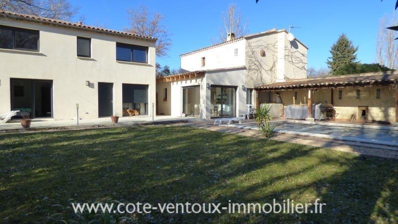 Vente de prestige maison / villa Aubignan 575000€ - Photo 1