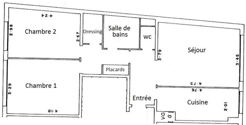 Sale apartment Paris 18ème 477 000€ - Picture 3